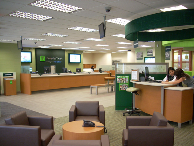 TD Bank Unveils Modernized Branch Design