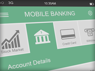 mobile banking screenshot