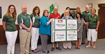 "Woodlands Bank's ""Get Local, Give Local, Go Local"" campaign"