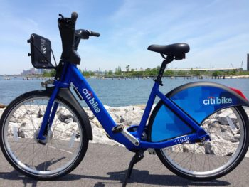 Citibike by water