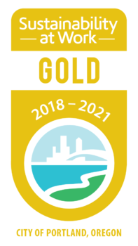 Gold Certified for Sustainability at Work