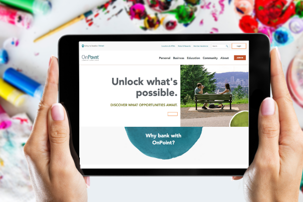 Website Makeover: OnPoint Community Credit Union