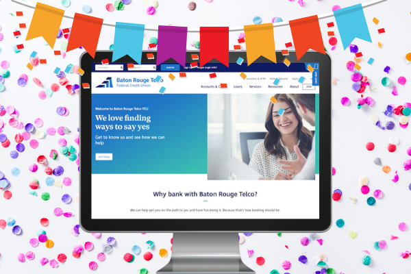 It Launched! Check Out Baton Rouge Telco FCU's Shiny New Website