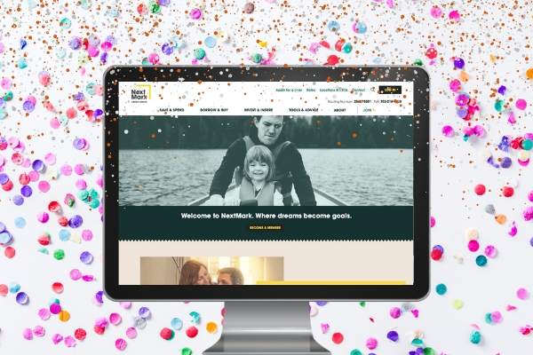 It Launched! NextMark Credit Union's New Website is Here
