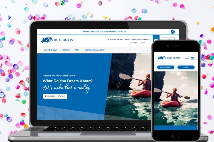 It Launched! USE Credit Union's New Website is Live