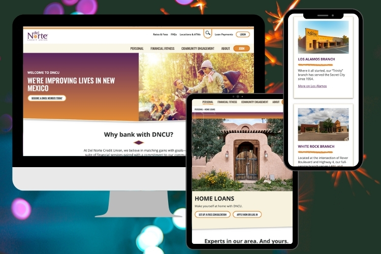 It Launched! Del Norte Credit Union's New Website Has Arrived